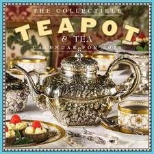 COLLECTIBLE TEAPOT & TEA WALL CALENDAR 2
