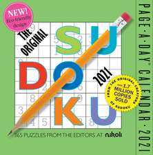 2021 Original Sudoku Page-A-Day Calendar