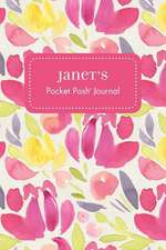 Janet's Pocket Posh Journal, Tulip