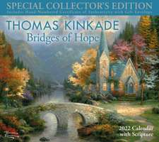 Thomas Kinkade Special Collector's Edition with Scripture 2022 Deluxe Wall Calendar with Print