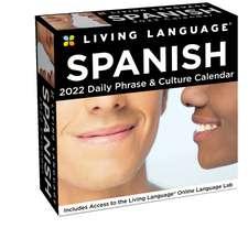 Living Language: Spanish 2022 Day-to-Day Calendar