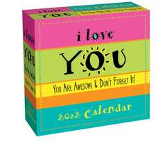I Love You 2022 Day-to-Day Calendar