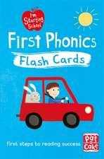 Pat-a-Cake: I'm Starting School: First Phonics Flash Cards