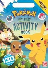 OFFICIAL POKEMON HOLIDAY ACTIVITY BOOK