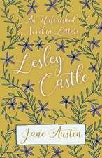 An Unfinished Novel In Letters - Lesley Castle