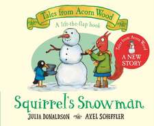 Squirrel's Snowman