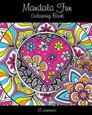 Mandala Fun Colouring Book