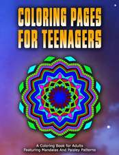 Coloring Pages for Teenagers - Vol.1