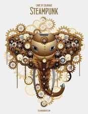 Livre de Coloriage Steampunk 1