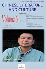 Chinese Literature and Culture Volume 6