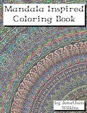 Mandala Inspired Coloring Book