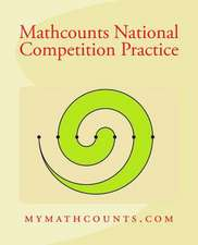 Mathcounts National Competition Practice