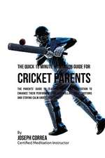 The Quick 15 Minute Meditation Guide for Cricket Parents