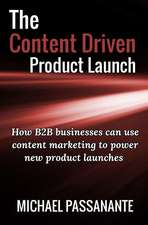 The Content Driven Product Launch