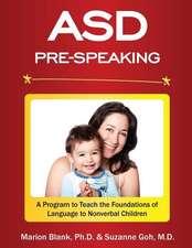 Asd Pre-Speaking Program