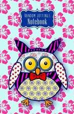 """Random Jottings Notebook- """"Tizzy"""""""
