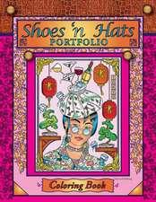 Shoes 'n Hats Portfolio Coloring Book