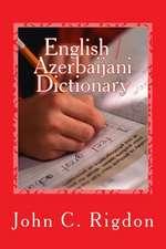 English / Azerbaijani Dictionary