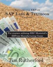 Supplemental Erpsim SAP Labs & Textbook