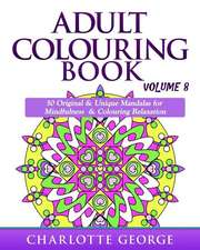 Adult Colouring Book - Volume 8
