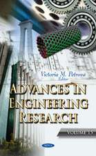 Advances in Engineering Research: Volume 15