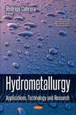 Hydrometallurgy: Applications, Technology & Research