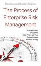 Oh, K: Process of Enterprise Risk Management