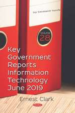 Key Government Reports on Information Technology for June 2019