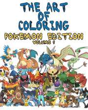 The Art of Coloring - Pokemon Edition