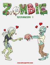 Zombie Kleurboek 1