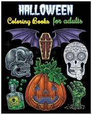 Halloween Coloring Books for Adults
