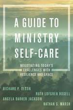 GUIDE TO MINISTRY SELF CARE NCB