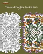 Treasured Fountain Coloring Book
