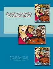 Alice and Andy Coloring Book