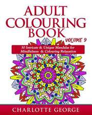 Adult Colouring Book - Volume 9