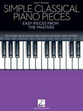 Simple Classical Piano Pieces: Easy Pieces from the Masters