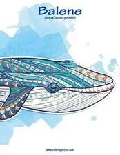 Balene Libro Da Colorare Per Adulti 1