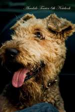 Airedale Terrier 6th Notebook