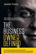 The Business Owner Defined