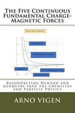 The Five Continuous Fundamental Charge-Magnetics Forces