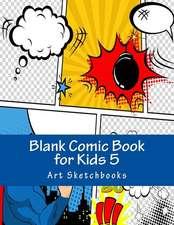 Blank Comic Book for Kids 5