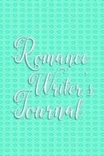 Writer's Notebook - Romance Writer's Journal (Green)