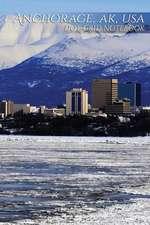 Anchorage, AK, USA Dot-Grid Notebook
