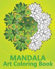 Mandala Art Coloring Book
