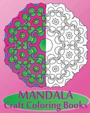 Mandala Craft Coloring Books