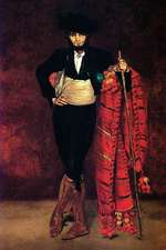"""""""Young Man in the Costume of a Majo"""" by Edouard Manet - 1863"""