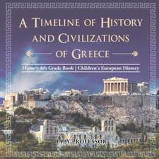 A Timeline of History and Civilizations of Greece - History 4th Grade Book | Children's European History