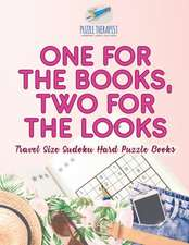 One for the Books, Two for the Looks | Travel Size Sudoku Hard Puzzle Books