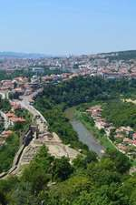 Houses on a Hill in Veliko Turnovo Bulgaria Journal