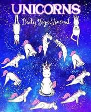 Unicorns Daily Yoga Journal